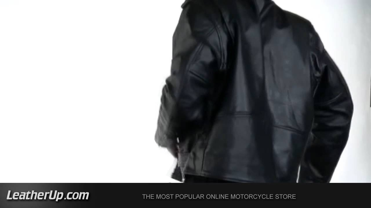 3f4e3741e89 B7100 Xelement Men s Classic TOP GRADE Biker Motorcycle Jacket at  LeatherUp.com - YouTube