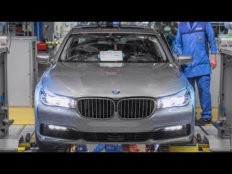 2017 BMW 7 Series Production (CFRP) Full Version