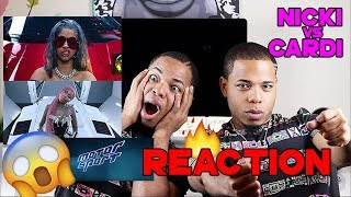 MIGOS, NICKI MINAJ, CARDI B -  MOTORSPORT (OFFICIAL VIDEO) | REACTION VIDEO | BaddieTwinz
