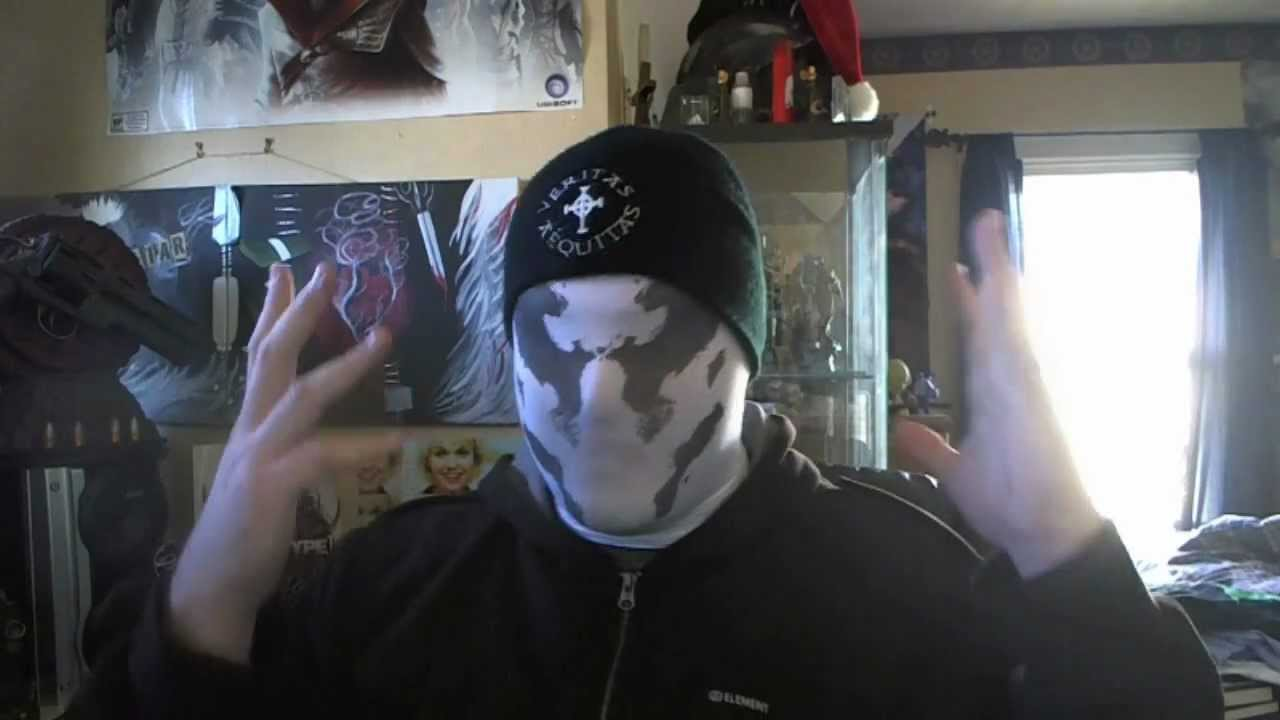how to make a mask like rorschach