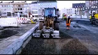Practice video - plate compactor SBV 80 HC 3 - Kaiserplatz in Düren