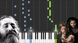Crystals - Of Monsters And Men - Piano Tutorial
