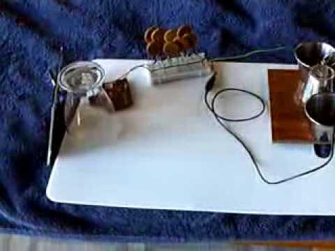 Solar Powered Electrostatic Motor