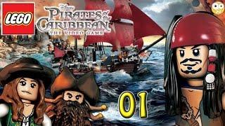 LEGO Piratas do Caribe PC Gameplay Parte 1 (A Maldição do Pérola Negra) Sem Comentários PT-BR