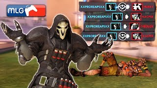 The Worlds Luckiest Reaper! [Overwatch]