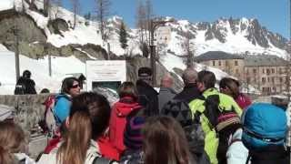 Mont Blanc - Montenvers Mer De Glace w HD, cz  1