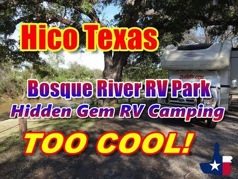 Hico Texas Bosque River RV Park | A Hidden Gem RV Campground!