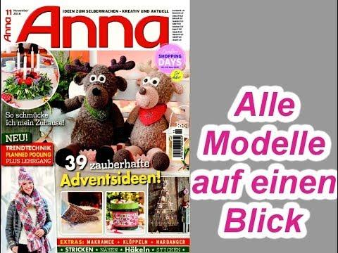 Anna 11/2018 Alle Modelle auf einen Blick
