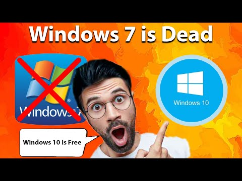Windows 7 Is Officially Dead And Windows 10 Is FREE