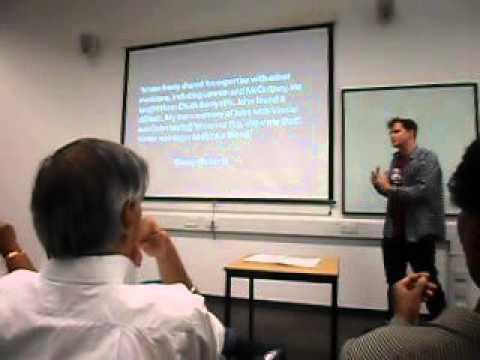 LORD WOODBINE - DR JAMES McGRATH PART 3
