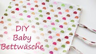 DIY Baby Bettwäsche/ Einfach selber nähen