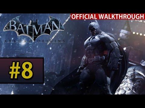 Batman Arkham Origins - Walkthrough Gameplay - Part 8 The Disruptor