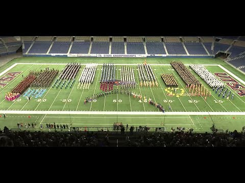 2017 UIL 5A State Marching Championships Finals Results