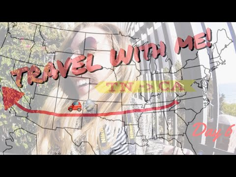Travel Across the country with me! {Day 6} | VLOG|