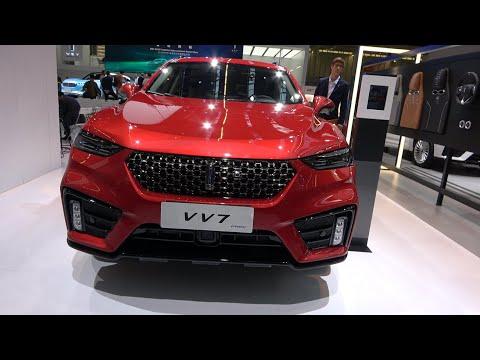 WEY VV7 PHEV SUV: 4K Exterior Interior - IAA 2019 Frankfurt