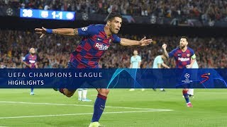 UEFA Champions League | FC Barcelona v Inter Milan | Highlights