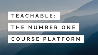 Teachable - #1 Course Platform to Create and Sell Online Courses thumbnail