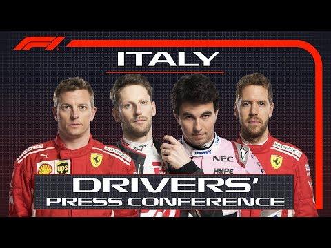 2018 Italian Grand Prix: Press Conference Highlights