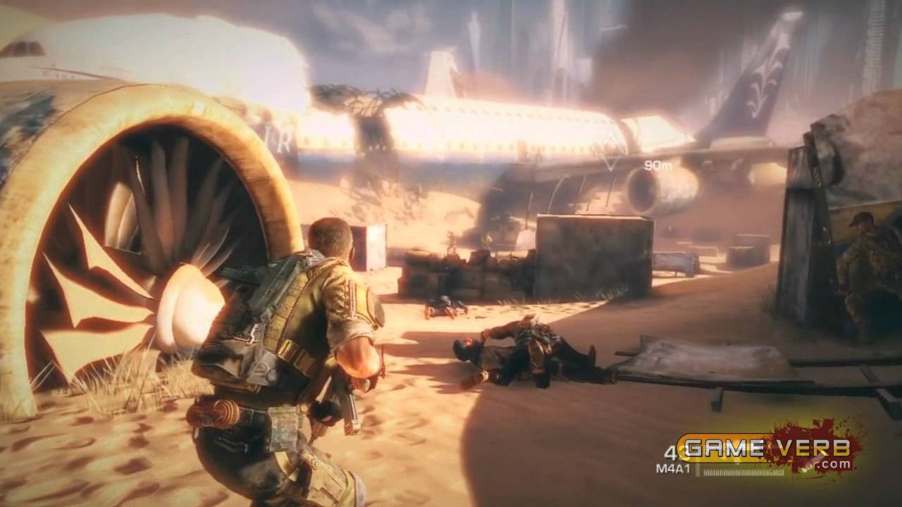 Spec Ops the Line Gameplay Walkthrough Part 1 Mission 1 15 ...