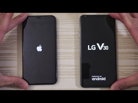 Download Youtube: iPhone X vs LG V30 - Speed Test! (4K)