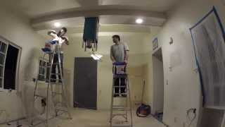 Kitchen Remodeling - Day 6 Of 17 - Drywall Sanding, Taping, Mudding