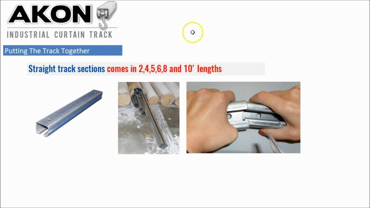 Industrial Curtain Tracks Industrial Curtain Track General Overview