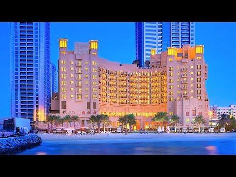 Отель Бахи Аджман Палас 5 звезд ОАЭ 4K  BAHI AJMAN PALACE HOTEL  лучшие отели мира Арабские Эмираты