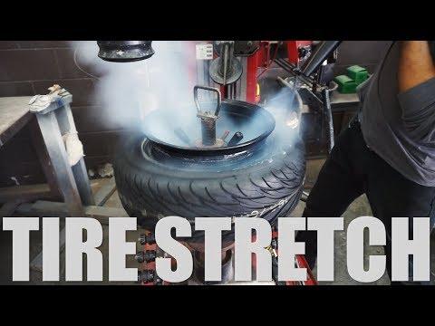 Tire Stretch: 185/60R13 on 13x10