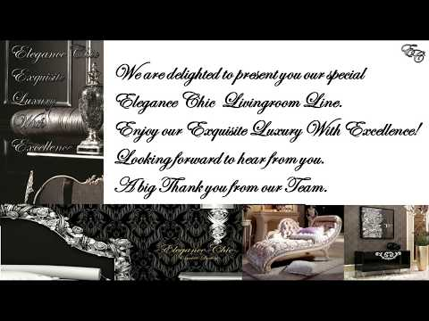 Elegance Chic Exquisite Luxury With Excellence! Interior Design / Italian & French Classic Furniture
