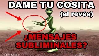 NUNCA DEBES Escuchar La CANCION Dame Tu Cosita AL REVES | MENSAJES SUBLIMINALES