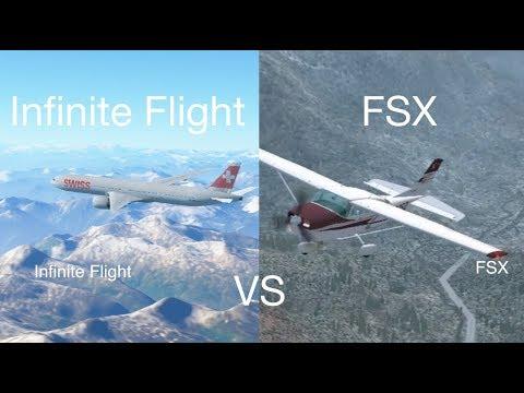 FSX vs Infinite Flight