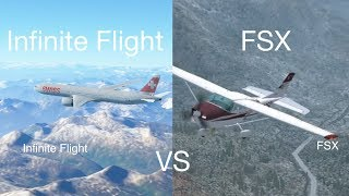 FSX vs Infinite Flight