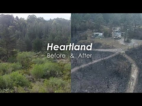 Heartland School of Self-Sufficiency - Before & After Fires