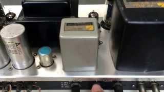 luxman 真空管アンプ MQ60 右出力が弱いです