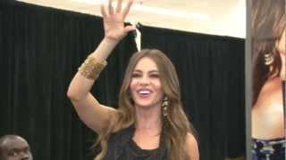 Sofia Vergara - Fall Fashion & Make-Over at Kmart NYC (Sept. 27, 2012)