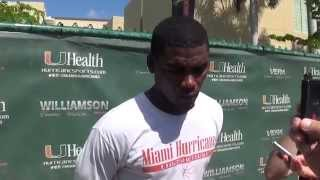 Wide Receiver Stacy Coley - Oct. 18