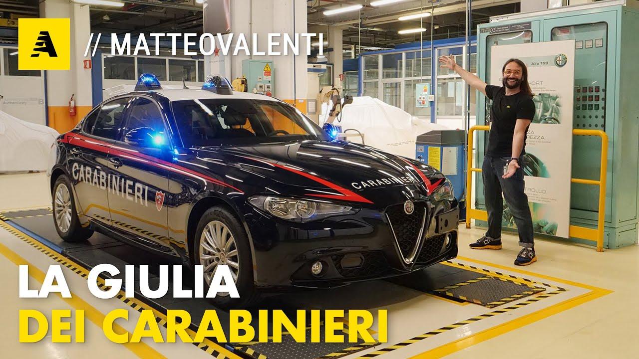 Download I segreti della NUOVA Alfa Romeo GIULIA dei CARABINIERI (NO Quadrifoglio, 2.0T 200 CV)