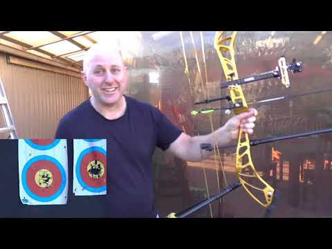 Archery Stabilizer Off Center