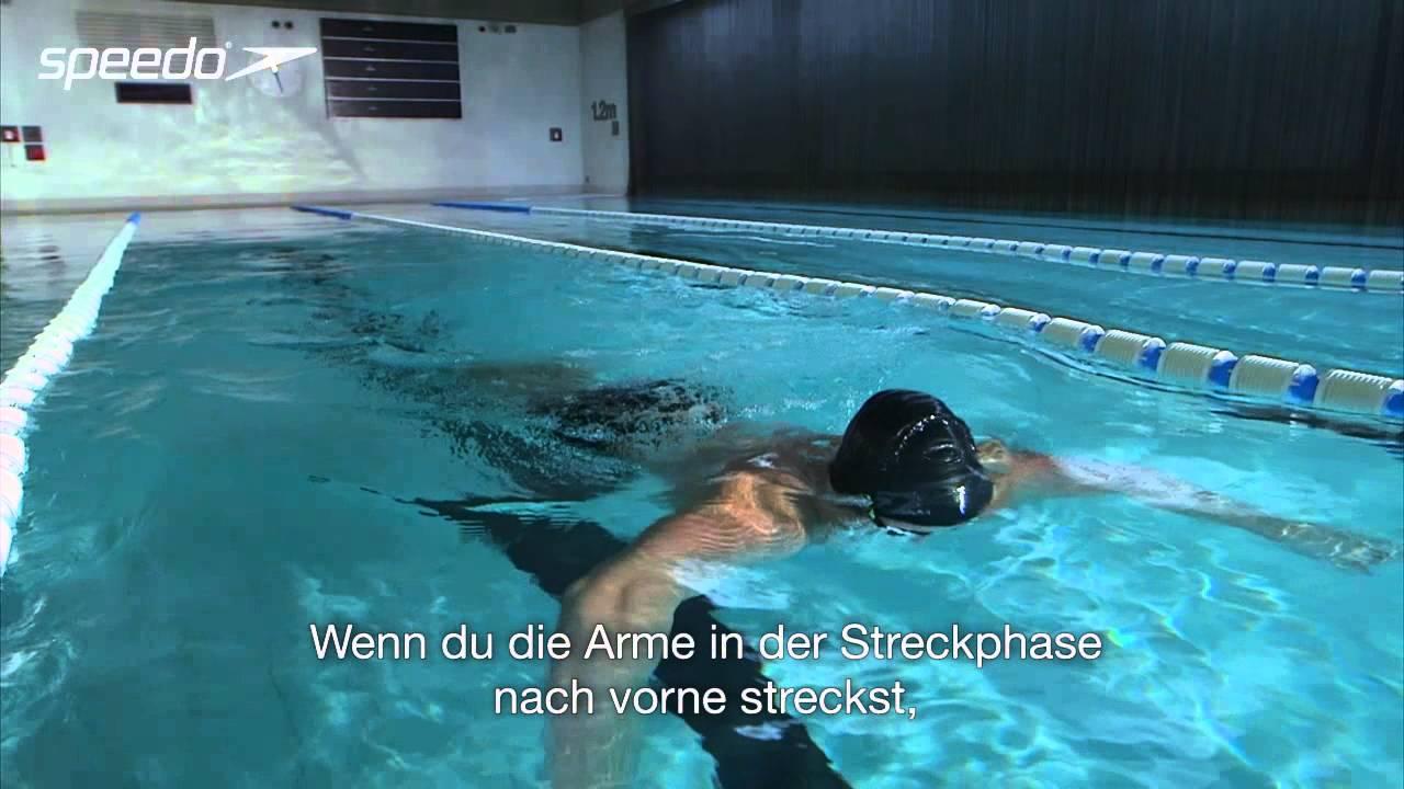 Richtig Brustschwimmen Atmung