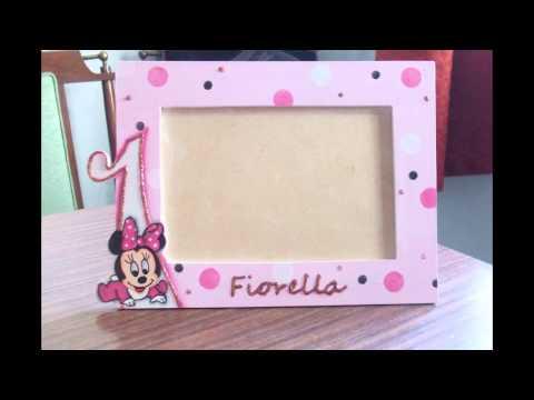 Souvenirs portaretratos infantiles Mickey, Minnie, Mickey Bb y más ...