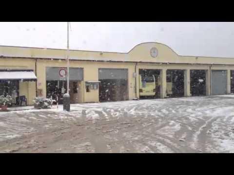CAGLI Nevicata nel cagliese