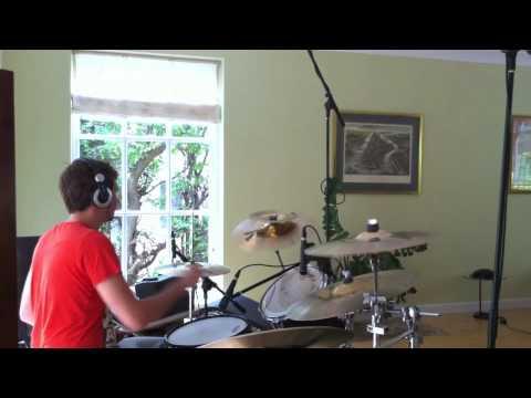Audix DP Elite 8 Test - Jimmy Eat World Bleed American Drum Cover