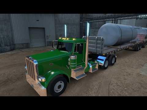 American Truck Simulator....Large tanks to Eugene