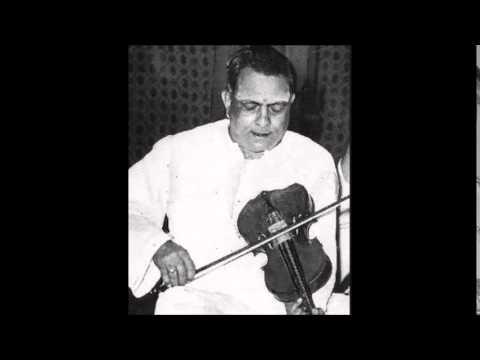 Mysore T Chowdiah -Nannupalimpa- Ragam Mohanam