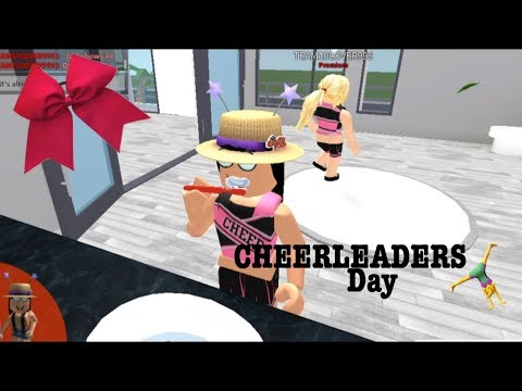 Cheerleaders Bloxburg Day Drama Youtube