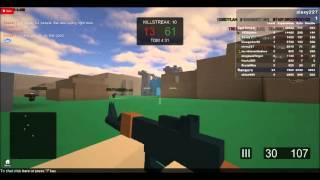 Jogando Roblox:Battlefield pre beta#4