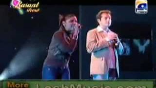 pashto song janan live Hadiqa Kiani and Irfan Khan
