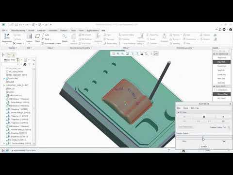 volume, finishing, surface, engraving, drilling milling-CREO.SPKT