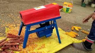 Кукурузолущилка (лущилка кукурузы) электрическая Fil Tech СY-007. ОБЗОР