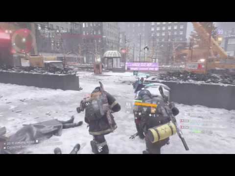 Tom Clancy's The Division Air burst King